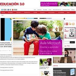 Comunícate, una app para la comunicación entre docentes de educación Física y alumnos con diversidad funcional