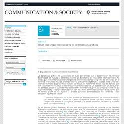 Hacia una teoría comunicativa de la diplomacia pública