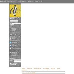 Revista Documentos Lingüísticos y Literarios UACh