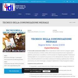 TECNICO DELLA COMUNICAZIONE MEDIALE - Associazione Centro Studi IDI
