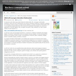 Bacheca comunicazioni » AREA LIM (Lavagne Interattive Multimediali)