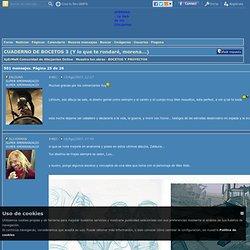 XpErMaN Comunidad de dibujantes Online - CUADERNO DE BOCETOS 3 (Y lo que te rondaré, morena...) - BOCETOS Y PROYECTOS
