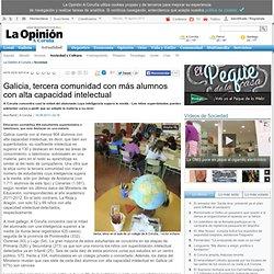 Galicia, tercera comunidad con más alumnos con alta capacidad intelectual