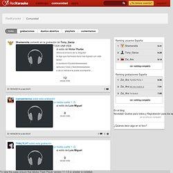 La Comunidad de Red Karaoke: únete a +700,000 amantes del karaoke de todo el mundo