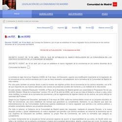 Comunidad de Madrid - madrid.org