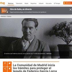 La Comunidad de Madrid inicia los trámites para proteger el legado de Federico García Lorca
