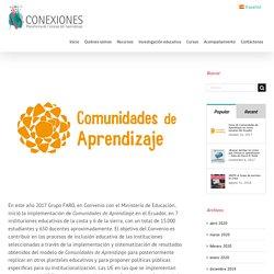 Inicio de Comunidades de Aprendizaje en varias escuelas del Ecuador