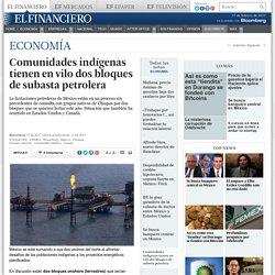 Comunidades indígenas tienen en vilo dos bloques de subasta petrolera