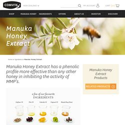 Comvita - Natural Health & Beauty - Manuka Honey, Olive Leaf & Propolis