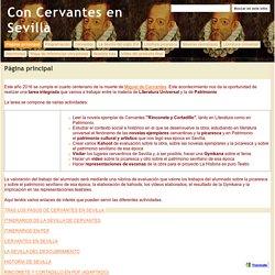 Con Cervantes en Sevilla