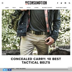 Concealed Carry: 10 Best Tactical Belts