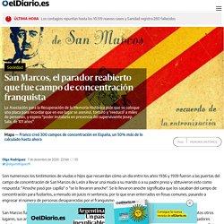 San Marcos, el parador reabierto que fue campo de concentración franquista
