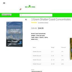Coast Concentrates Shatter Buy Weed Shatter Online - bcweedpen.com