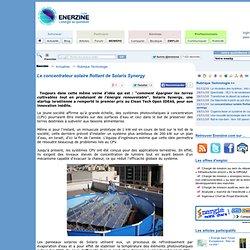 Le concentrateur solaire flottant de Solaris Synergy > Technologie
