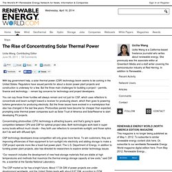 The Rise of Concentrating Solar Thermal Power