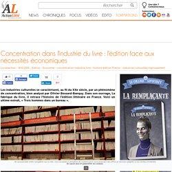 Concentration dans l'industrie du livre : l'édition face aux nécessités économiques