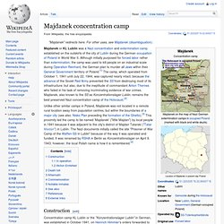 Majdanek concentration camp
