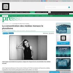InaGlobal, 4/12/2015/ La concentration des médias menace le pluralisme