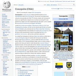 Concepción - Wikipedia