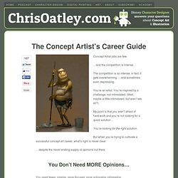 Concept Artist Jobs: How To Break In & Stay In