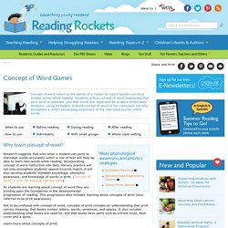 Subject Area: Reading & Resource Name: Reading Rockets
