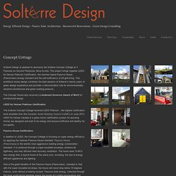 Concept Cottage — Solterre Design