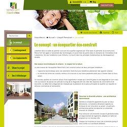 Le concept d'un écoquartier éco-construit à Reims