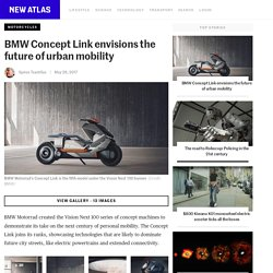 BMW Concept Link envisions the future of urban mobility