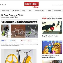 14 Cool Concept Bikes