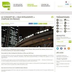 Le concept de « ville intelligente » s'impose en France