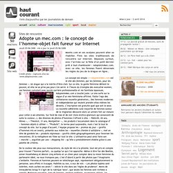 Adopte un mec.com : le concept de l'homme-objet fait fureur sur Internet