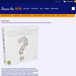 Concept: jeu de société chez Jeux de NIM