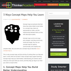 3 Ways Concept Maps Help You Learn - Thinker Academy