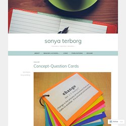 Concept-Question Cards – sonya terborg