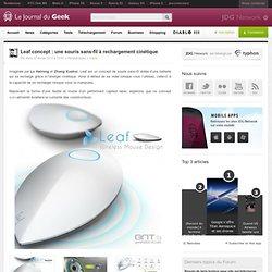 Leaf concept : une souris sans-fil à rechargement cinétique
