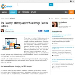 The Concept of Responsive Web Design Service in India