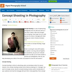 Concept Shooting in Photography