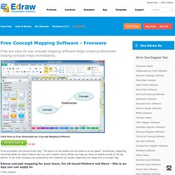 Free Concept Mapping Software - Freeware
