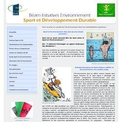 Le concept Sport Environnement - sport-et-environnement-bie jimdo page!