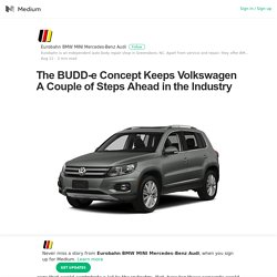 The BUDD-e Concept Keeps Volkswagen A Couple of Steps Ahead in the Industry