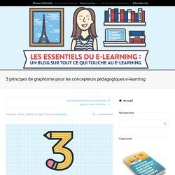 3 principes de graphisme pour les concepteurs e-learning