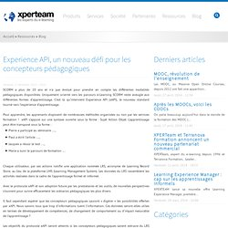 XperTeam - Experience API