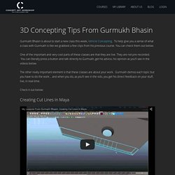 3D Concepting Tips From Gurmukh Bhasin