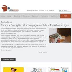 Cursus - Conception et accompagnement de la formation en ligne - Thot Cursus