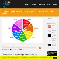 Comment choisir un jeu de couleurs pour la conception de votre logo ? - Résonance communication