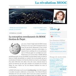 La conception du MOOC Gestion de Projet, façon Wikipedia