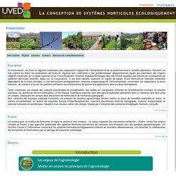 UVED - La conception de systèmes horticoles écologiquement innovants