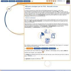 Guide de conception - FAQ pour enseigner par les TICE - Nouvelle version
