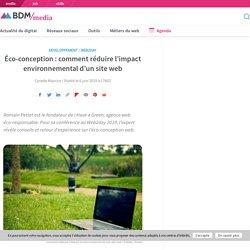 Éco-conception : comment réduire l'impact environnemental d'un site web
