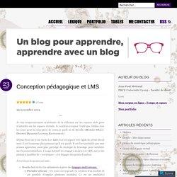 Conception pédagogique et LMS